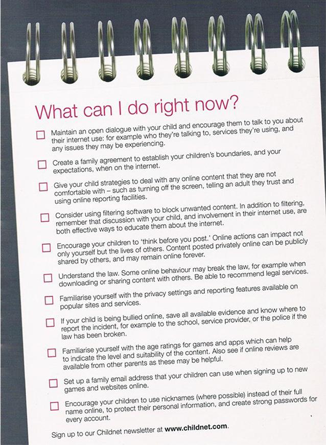 esafety-checklist