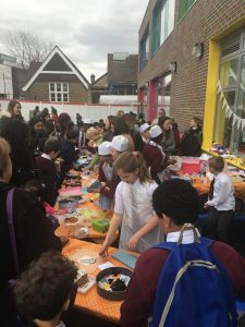 Maths cake sale