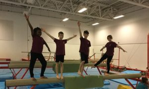 Key Steps 3 and Key Steps 2 Gymnastic Competition